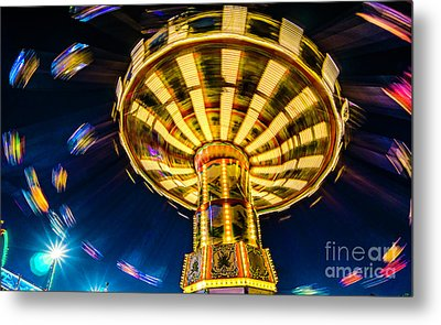 The Wheel Metal Print by David Smith