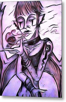 The Whisper Of Pain Metal Print by Joshua Massenburg