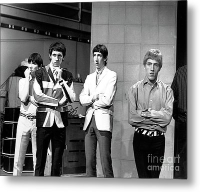 Metal Print featuring the photograph The Who 1965 by Chris Walter