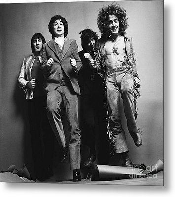 The Who Metal Print by Elizabeth Coats