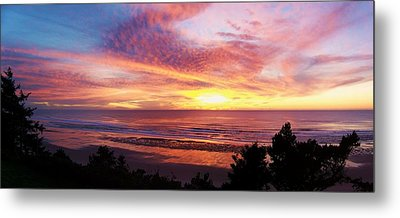 The Whole Sunset Metal Print by Angi Parks