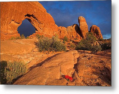 Metal Print featuring the photograph The Window by Steve Stuller