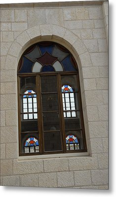 The Windows Of Jerusalem-1 Metal Print by Alex Kantor