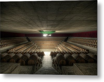The Wine Temple Metal Print by Marco Romani