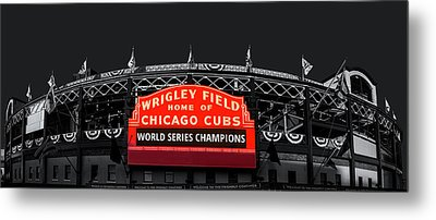 The Winning Confines Metal Print