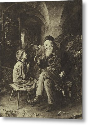 The Wisdom Of Solomon Metal Print by Ludwig Knaus