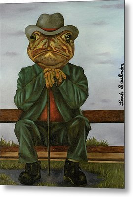 The Wise Toad Metal Print