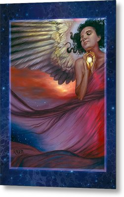 Metal Print featuring the painting The Wish Bearer by Ragen Mendenhall