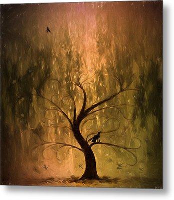 The Wishing Tree Metal Print by Hazel Billingsley