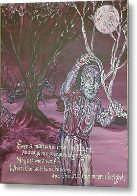 The Wolf Man, 1941 Metal Print