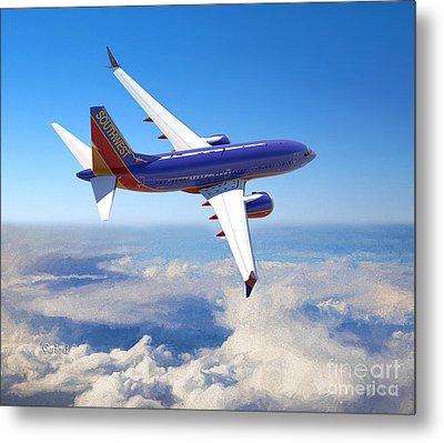 The Wonder Of Flight Metal Print