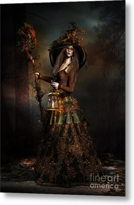 The Wood Witch Metal Print by Shanina Conway