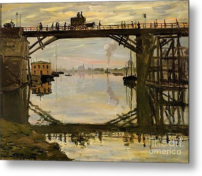 The Wooden Bridge Metal Print