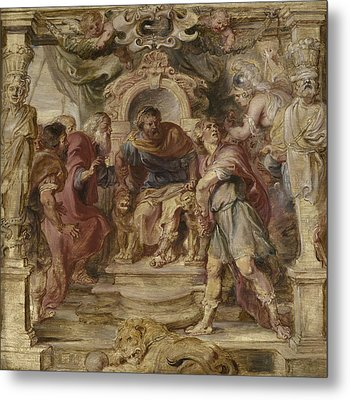 The Wrath Of Achilles Metal Print by Peter Paul Rubens