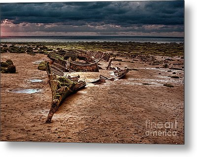 The Wreck Of The Sheraton Metal Print by John Edwards