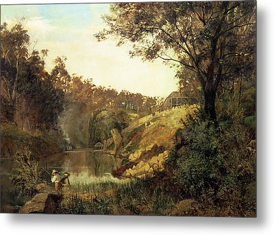 The Yarra, Studley Park Metal Print