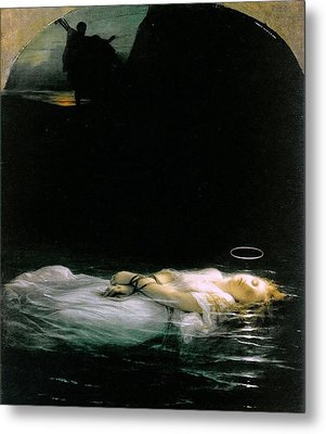 The Young Martyr  Metal Print