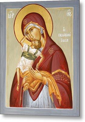 Theotokos Pelagonitisa Metal Print