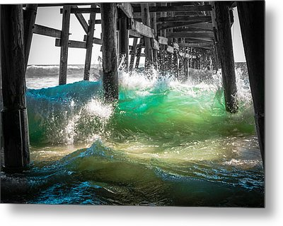 There Is Hope Under The Pier Metal Print