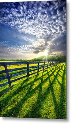 There Is More That Unites Than Divides Metal Print by Phil Koch