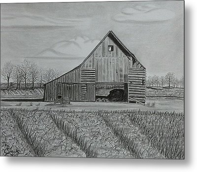 Theresa's Barn Metal Print