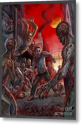 These Last Days Of Humanity  Metal Print