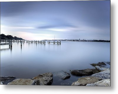 These Waters Are My Canvas Metal Print by Edward Kreis