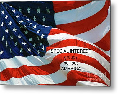 Metal Print featuring the photograph They Sell Us Out by Paul W Faust - Impressions of Light