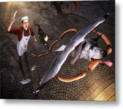 Thief! Metal Print by Christophe Kiciak