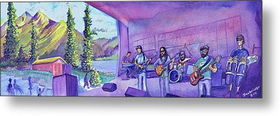 Thin Air At Dillon Amphitheater Metal Print