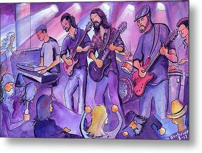 Thin Air At The Barkley Ballroom In Frisco, Colorado Metal Print