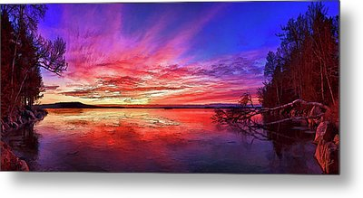 Thin Ice 1 Metal Print by ABeautifulSky Photography