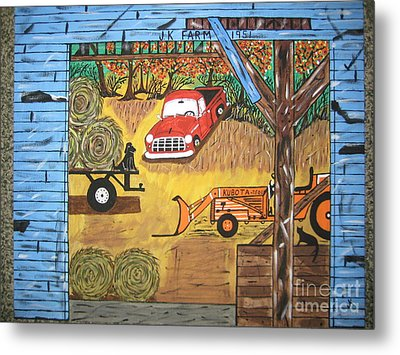Metal Print featuring the painting Thinking About You by Jeffrey Koss