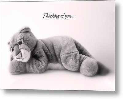 Metal Print featuring the photograph Thinking Of You by Gina Dsgn