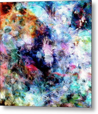 Metal Print featuring the painting Third Bardo by Dominic Piperata