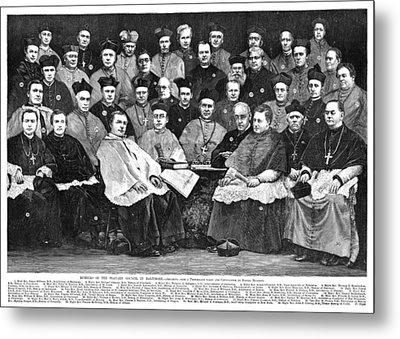 Third Plenary Council, 1884 Metal Print