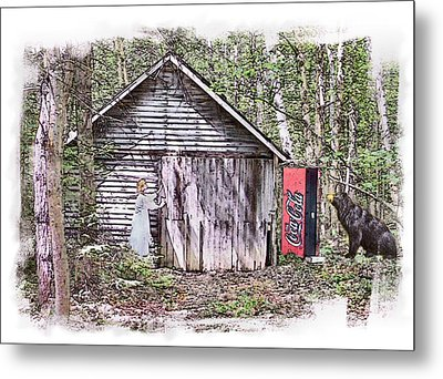 Thirst Quest Metal Print by Rose Guay