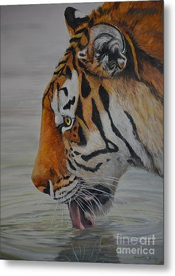Thirsty Metal Print by Charlotte Yealey