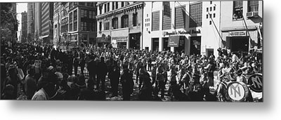 This Is A Ticker Tape Parade Metal Print by Panoramic Images