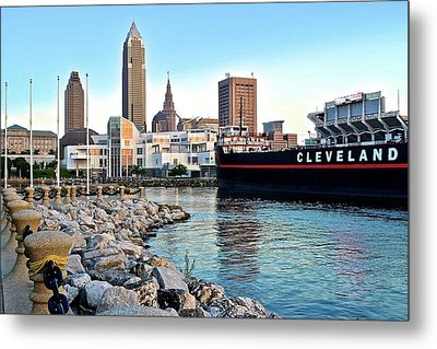 This Is Cleveland Metal Print by Frozen in Time Fine Art Photography