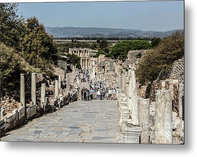 This Is Ephesus Metal Print