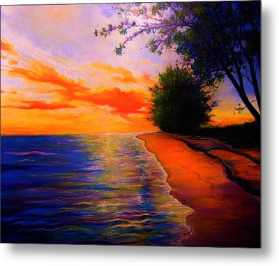 This Is Living Metal Print by Emery Franklin