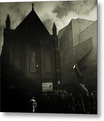 This Is My Church,goodison Park Metal Print by Janan Yakula
