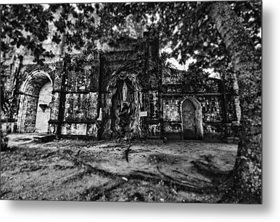 This Is The Philippines No.10 - San Juan Nepomuceno Church Metal Print by Paul W Sharpe Aka Wizard of Wonders
