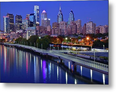 Metal Print featuring the photograph This Is The Shot You Want by Frozen in Time Fine Art Photography