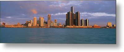 This Is The Skyline And Renaissance Metal Print by Panoramic Images
