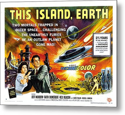 This Island Earth Science Fiction Classic Movie Metal Print