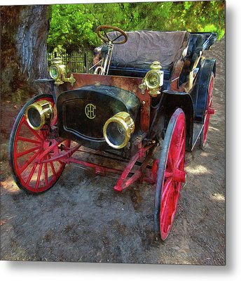 Metal Print featuring the photograph This Old Car by Thom Zehrfeld
