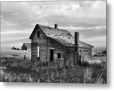 This Old House Metal Print by Jim Walls PhotoArtist