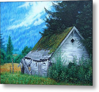 This Old House Metal Print by Mike Ivey